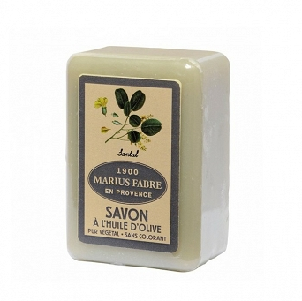 MARSEILLE OLIVE OIL SOAP - SANDALWOOD