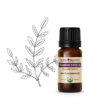 FRANKINCENSE BIO ORGANIC ESSENTIAL OIL - 100% NATURAL