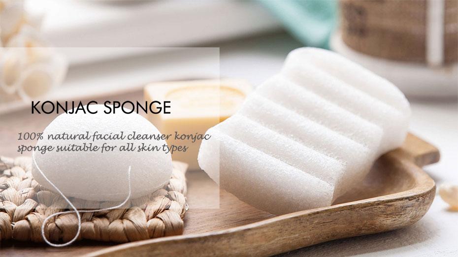 Natural sponge konjac